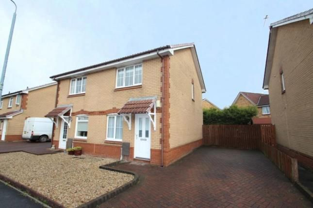 Thumbnail Semi-detached house for sale in Elm Drive, Chapelhall, Airdrie, North Lanarkshire