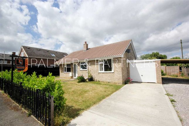 Thumbnail Detached bungalow for sale in Holdsworth Close, Glemsford, Sudbury