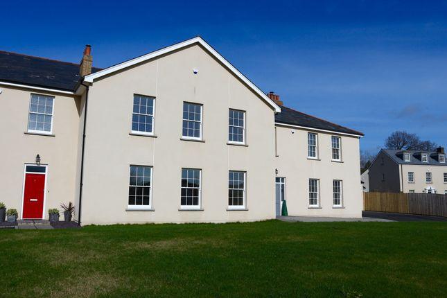 Thumbnail Town house for sale in Cyfarthfa Court, Gwaelodygarth, Merthyr Tydfil