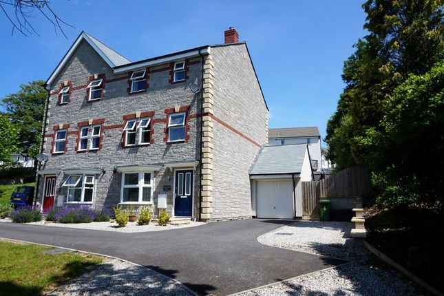 Thumbnail Semi-detached house for sale in The Maltings, St. Austell