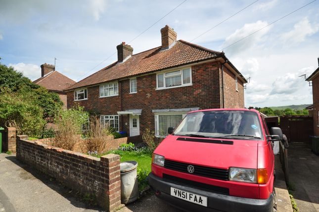 Thumbnail Semi-detached house to rent in East Way, Lewes