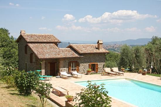 2 bed detached house for sale in Rocca Ripesena, Orvieto, Terni, Umbria, Italy