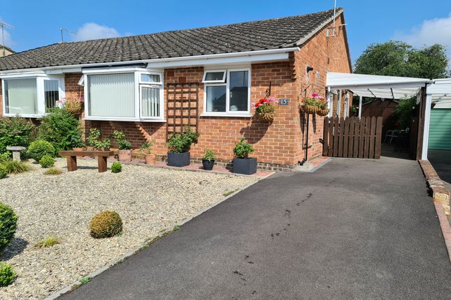 Thumbnail Semi-detached bungalow for sale in Downsview Drive, Gillingham