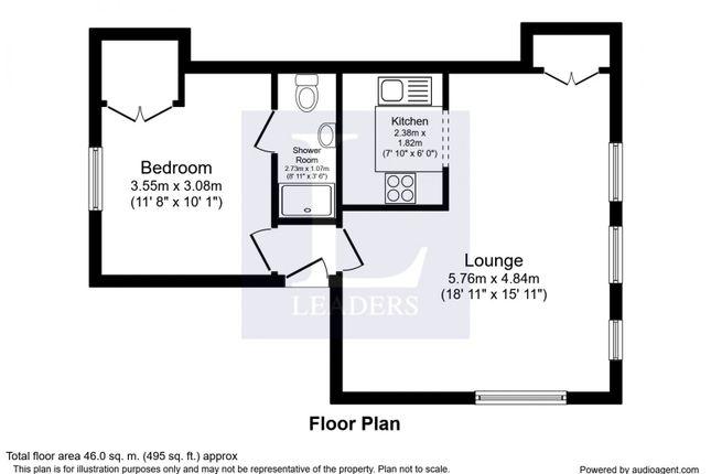 Floorplan of Croydon Road, Reigate RH2