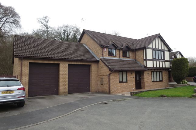 Thumbnail Detached house for sale in The Glade, Westbury Park, Newcastle