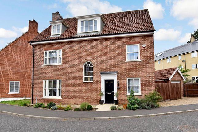 Thumbnail Detached house for sale in Trafalgar Way, Thetford, Norfolk