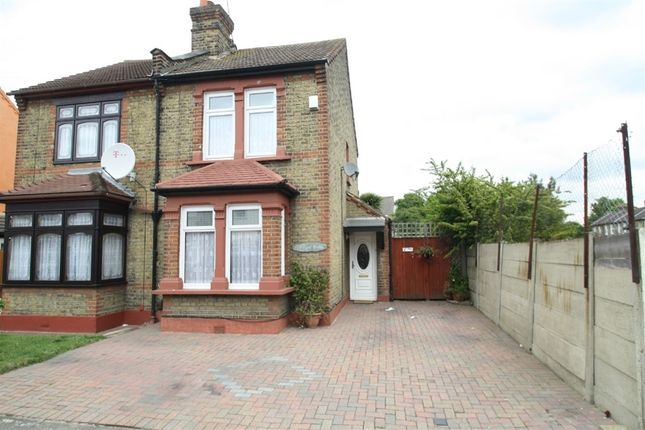 Thumbnail Semi-detached house for sale in Roman Road, East Ham, London