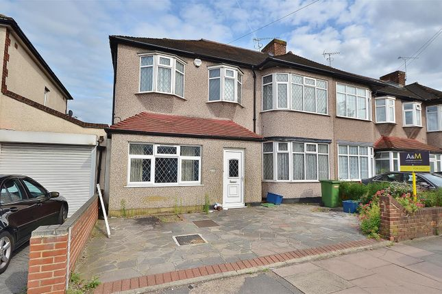 Thumbnail End terrace house for sale in Craven Gardens, Barkingside, Ilford