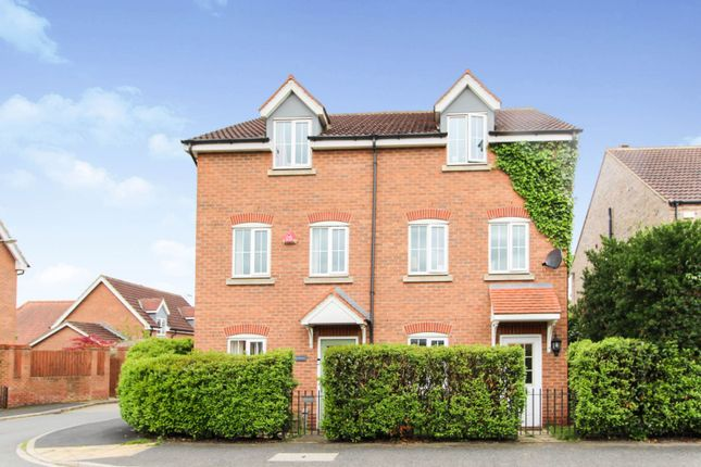 3 bed semi-detached house for sale in Selby Road, Wistow YO8