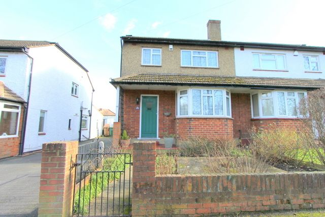 Thumbnail Semi-detached house for sale in Queen Elizabeth Walk, Wallington
