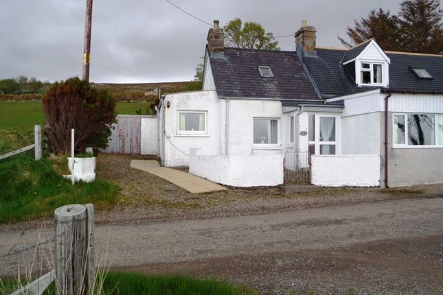 Thumbnail Semi-detached bungalow for sale in Brae Tongue, Tongue, Lairg