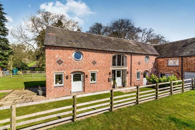 Thumbnail Barn conversion for sale in Fradswell Barns, Church Lane, Fradswell, Stafford