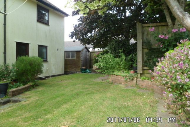 Back Garden  of Franklea Close, Ottery St. Mary EX11