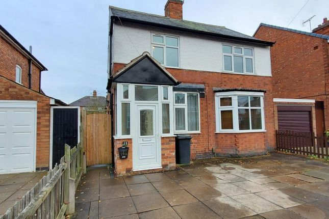 Thumbnail Flat for sale in Barbara Road, Leicester