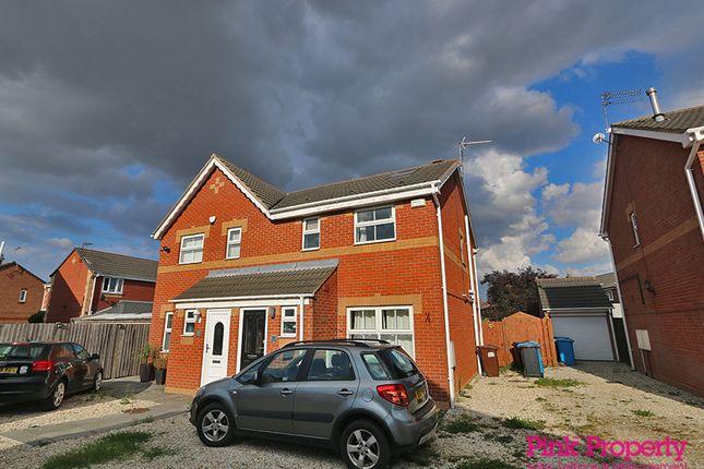Thumbnail Semi-detached house to rent in Lorenzos Way, Hull