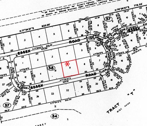 Land for sale in Suffolk, Grand Bahama, The Bahamas