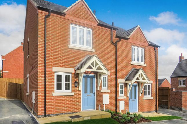 Thumbnail Semi-detached house for sale in Round House Close Off Heanor Road, Smalley, Ilkeston