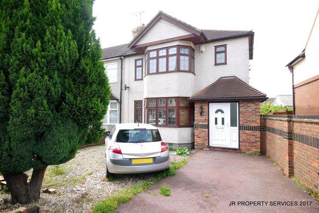 Thumbnail Semi-detached house for sale in Boleyn Avenue, Enfield