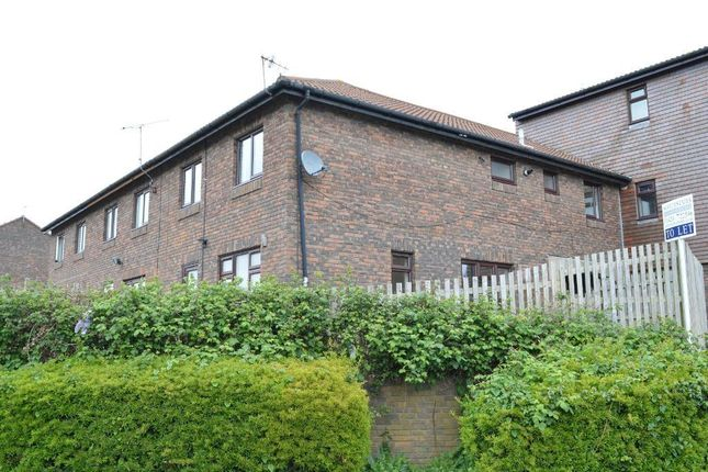 Thumbnail End terrace house to rent in Denham Close, St Leonards On Sea