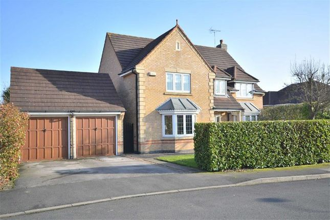 Thumbnail Detached house for sale in Maize Close, Heatherton Village, Littleover, Derby