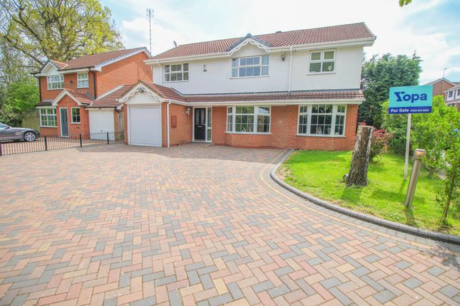Thumbnail Detached house for sale in Grizebeck Drive, Allesley, Coventry
