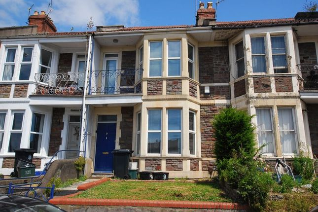 Thumbnail Terraced house to rent in Oldfield Place, Bristol