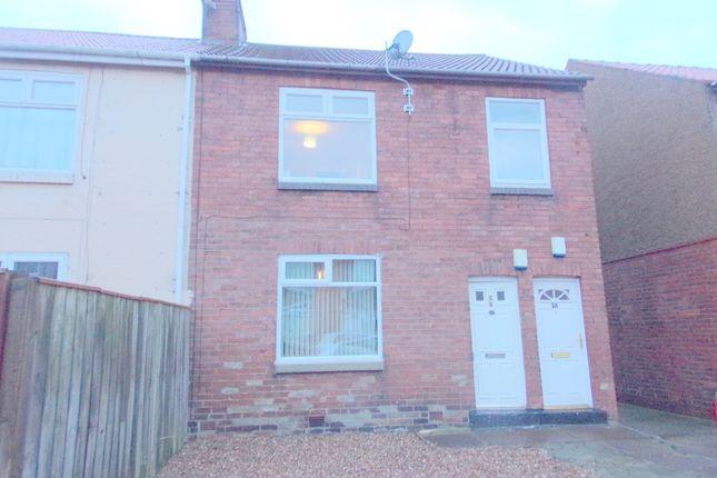 Thumbnail Flat for sale in Wilson Avenue, East Sleekburn, Bedlington