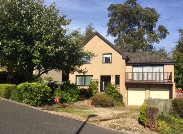 Thumbnail Detached house to rent in Abbotsview Drive, Galashiels, Borders