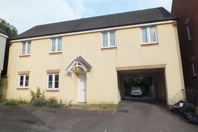 Thumbnail Maisonette to rent in Bishops Drive, Copplestone, Crediton, Devon