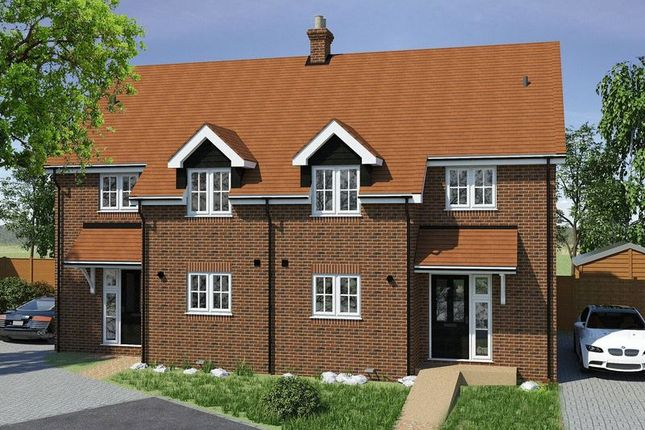 Thumbnail Semi-detached house for sale in Weston Road, Lewknor, Watlington