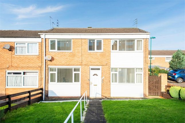 Thumbnail End terrace house for sale in Ennerdale Crescent, Skelton-In-Cleveland, Saltburn-By-The-Sea, North Yorkshire