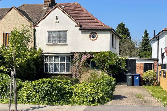 Thumbnail Semi-detached house to rent in Norwood Road, Norwood Green, Middlesex