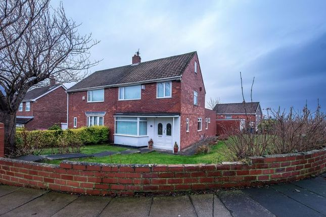 Thumbnail Semi-detached house for sale in Woodlands, Throckley