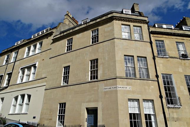 Thumbnail Flat for sale in Portland Place, Lansdown, Bath