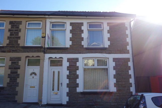 Thumbnail Terraced house to rent in Packers Road, Porth
