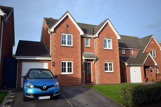 Thumbnail Detached house for sale in Eager Way, Exminster, Near Exeter