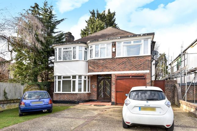 Thumbnail Detached house for sale in Rathgar Close, Finchley N3,