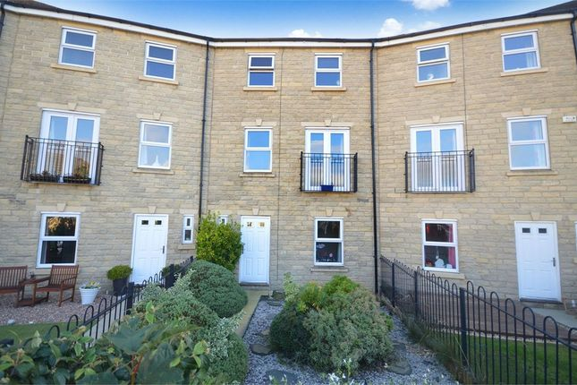 Thumbnail Town house for sale in Birkhead Close, Highburton, Huddersfield, West Yorkshire
