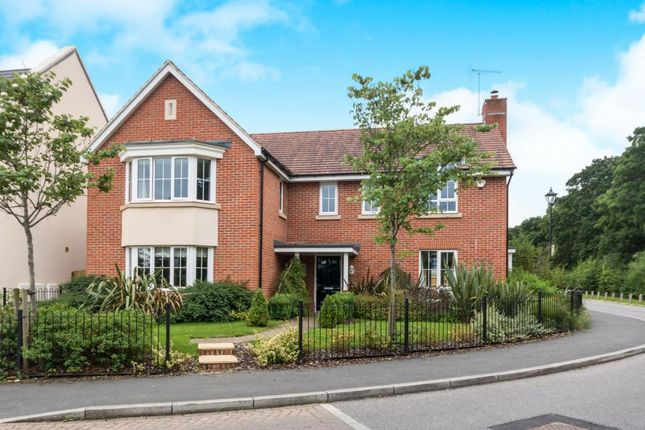 Thumbnail Detached house for sale in Damson Drive, Hartley Wintney, Hook