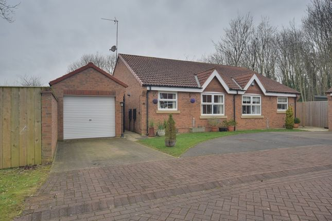 Thumbnail Semi-detached bungalow for sale in Willowdale Close, Bridlington