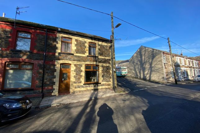 3 bed end terrace house for sale in Leslie Terrace, Porth CF39