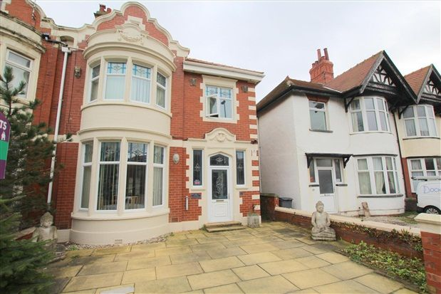Thumbnail Flat for sale in Raikes Parade, Blackpool
