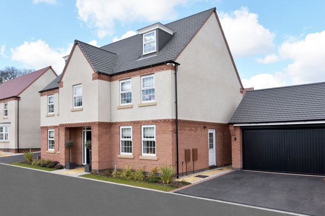 "Thumbnail Detached house for sale in ""Lichfield"" at Dunbar Way, Ashby-De-La-Zouch"