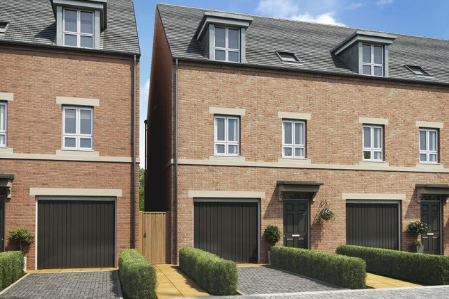 "Thumbnail Terraced house for sale in ""Hinton"" at Racecourse Road, Newbury"