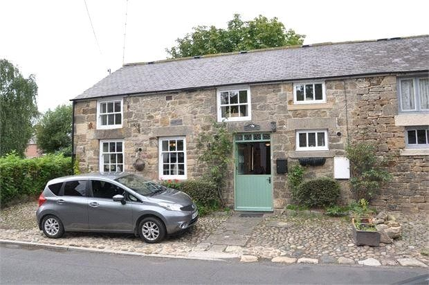 Thumbnail End terrace house for sale in Main Road, Ovingham, Northumberland