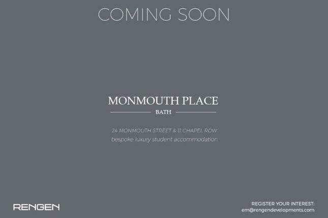 Studio to rent in Monmouth Street, Bath
