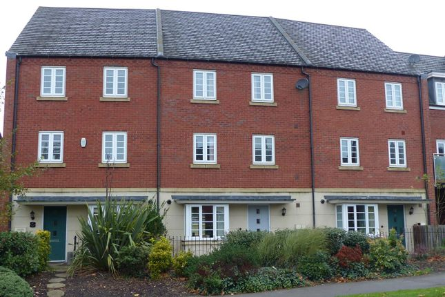 Thumbnail Town house for sale in Brunel Way, Church Gresley