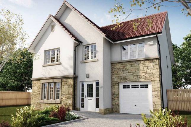 """Thumbnail Detached house for sale in """"The Crichton"""" at Hillview Gardens, Nivensknowe Park, Loanhead"""