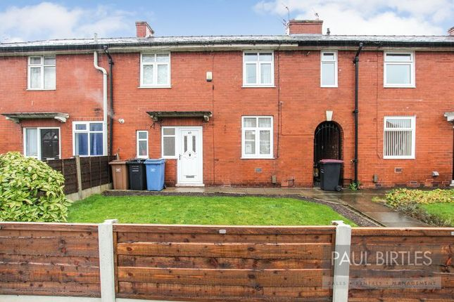 Thumbnail Terraced house to rent in Haddon Road, Eccles, Manchester