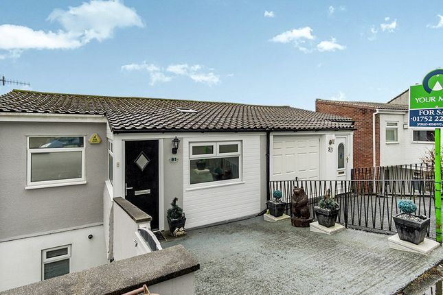 Thumbnail Semi-detached house for sale in Erlstoke Close, Plymouth